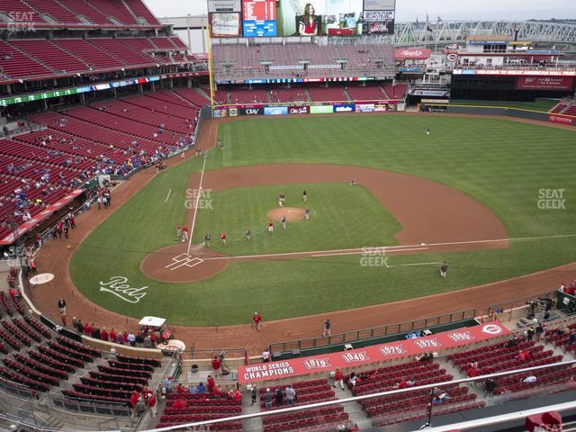 Great American Ball Park Section 428 view