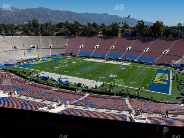 The Rose Bowl Section Club 204 view