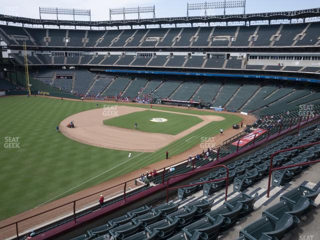 Globe Life Park Section 213 view