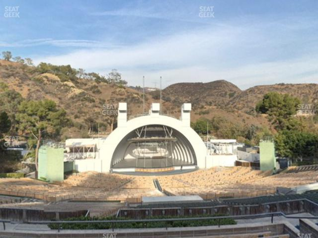 Hollywood Bowl Section N 2 view