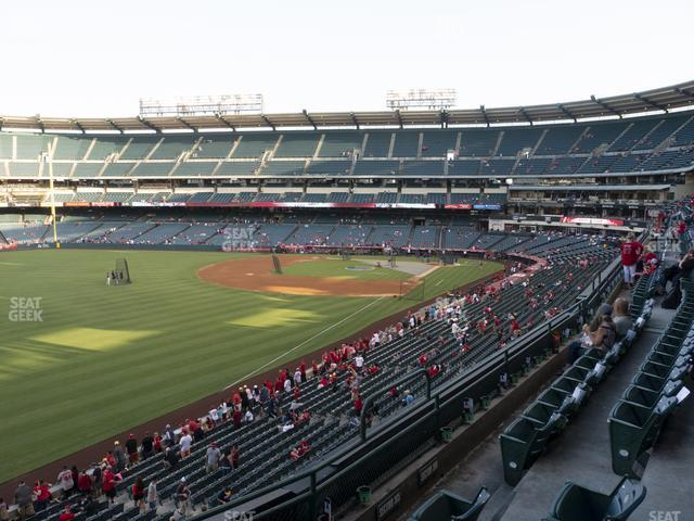 Angel Stadium of Anaheim Section 305 view