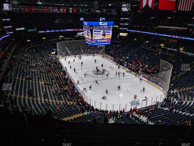 Nationwide Arena Section 212 view