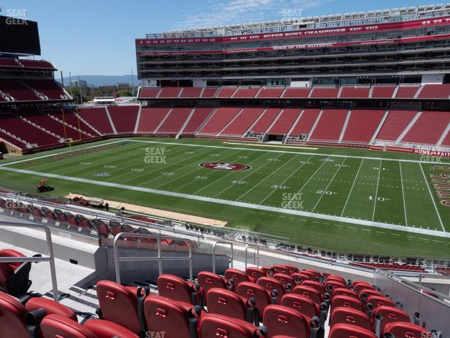 Levi's Stadium Section C 212 view