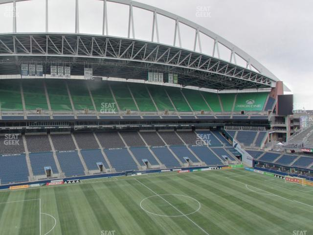 CenturyLink Field Lower 312 view