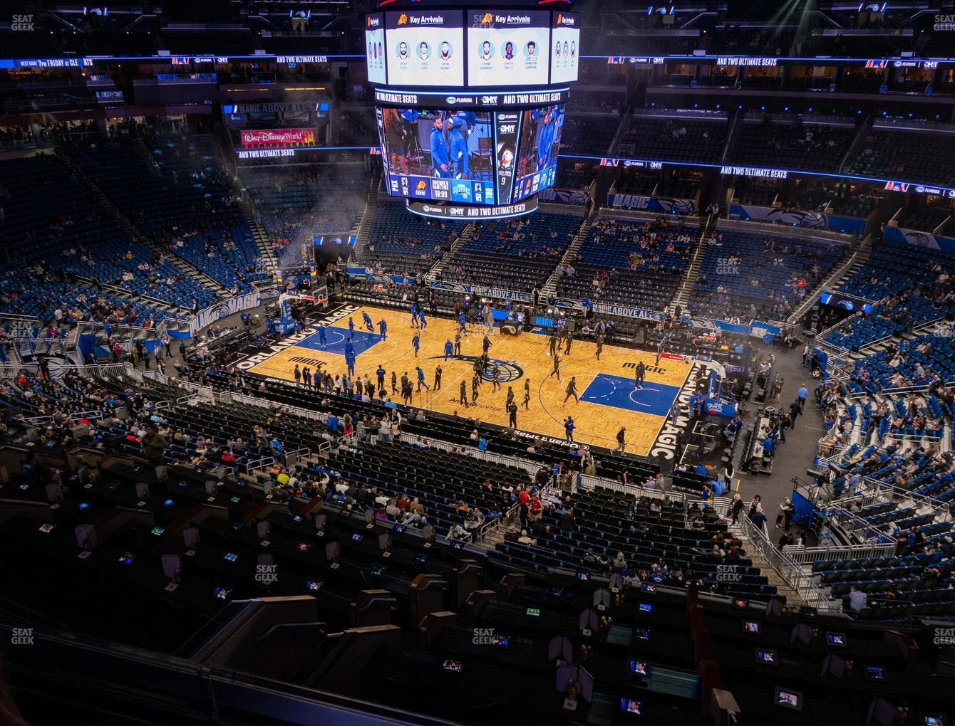 Orlando Magic at Amway Center Section 223 View