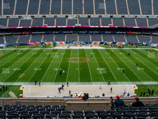 Soldier Field Section 309 view