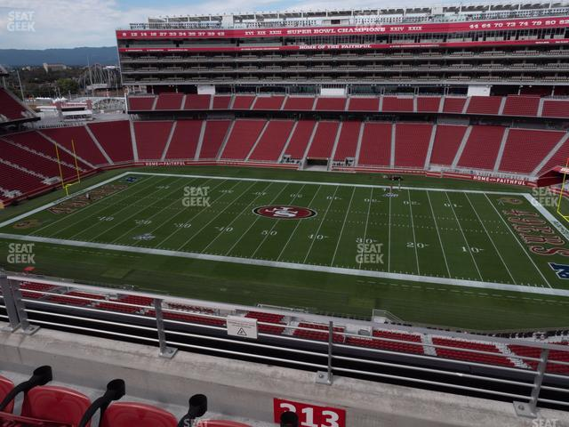 Levi's Stadium Section 313 view