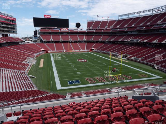 Levi's Stadium Section 231 view
