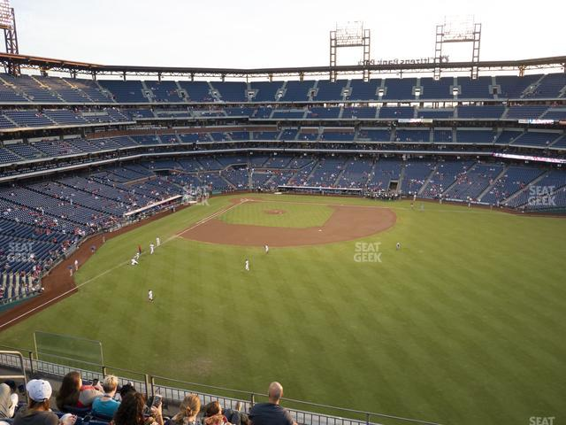Citizens Bank Park Section 301 view
