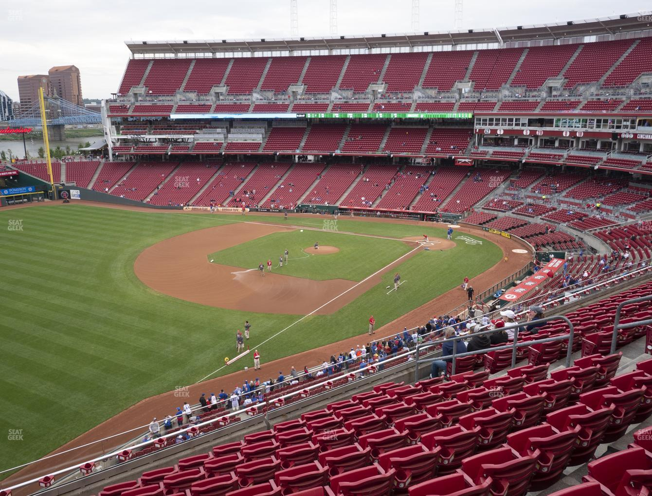 Great American Ball Park Section 412