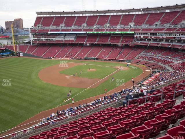 Great American Ball Park Section 412 view