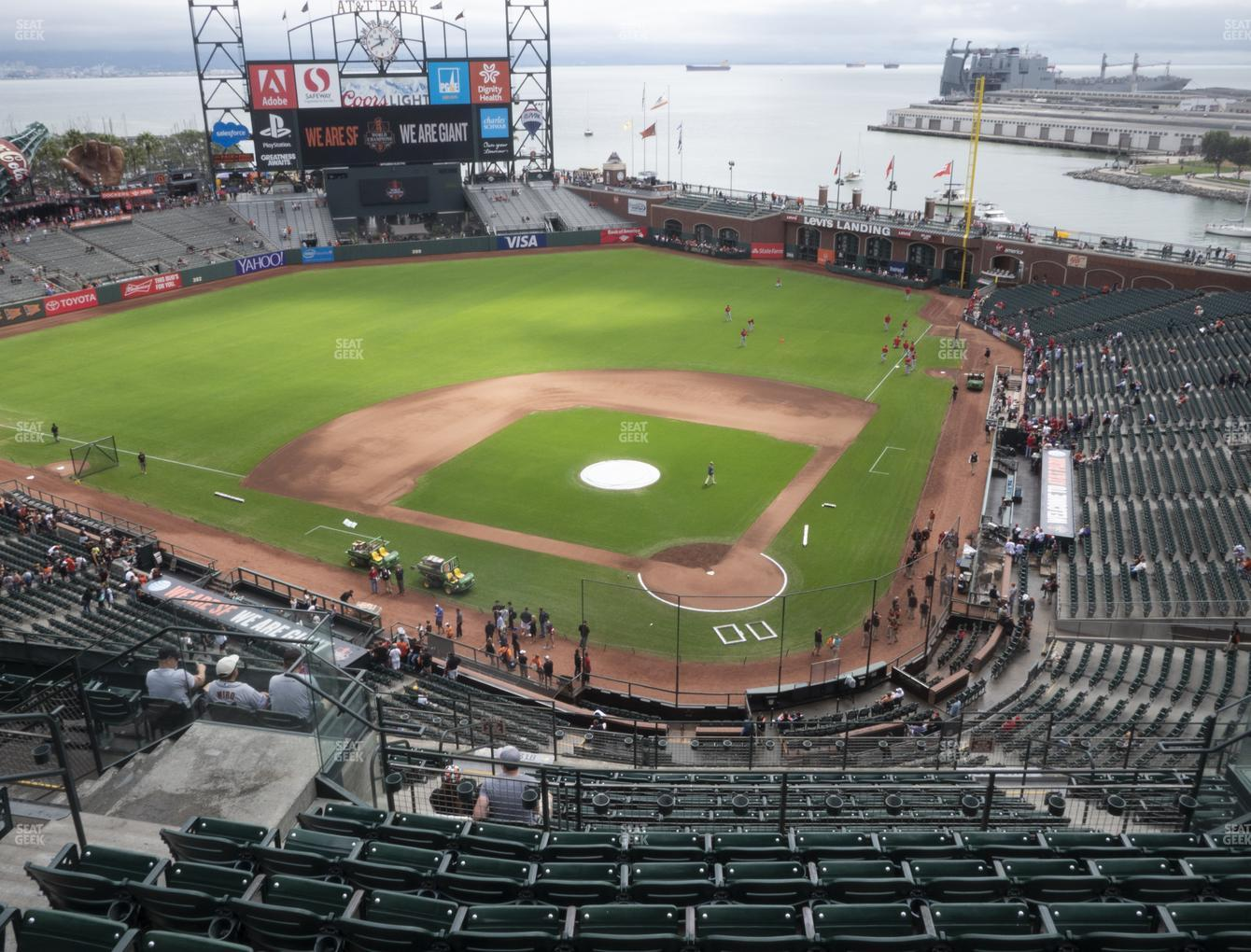 San Francisco Giants at Oracle Park Section 318 View