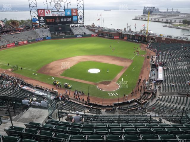 Oracle Park Section 318 view