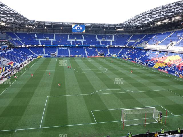 Red Bull Arena Section 202 view