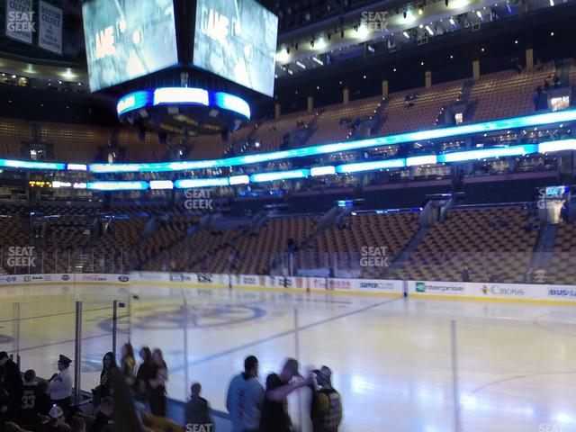 TD Garden Section Loge 21 view