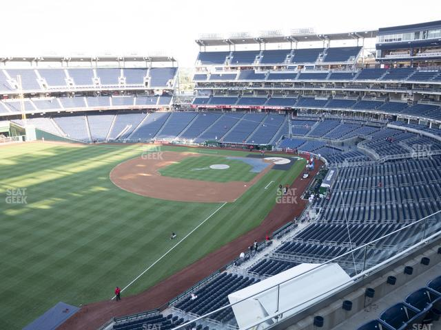 Nationals Park Section 302 view