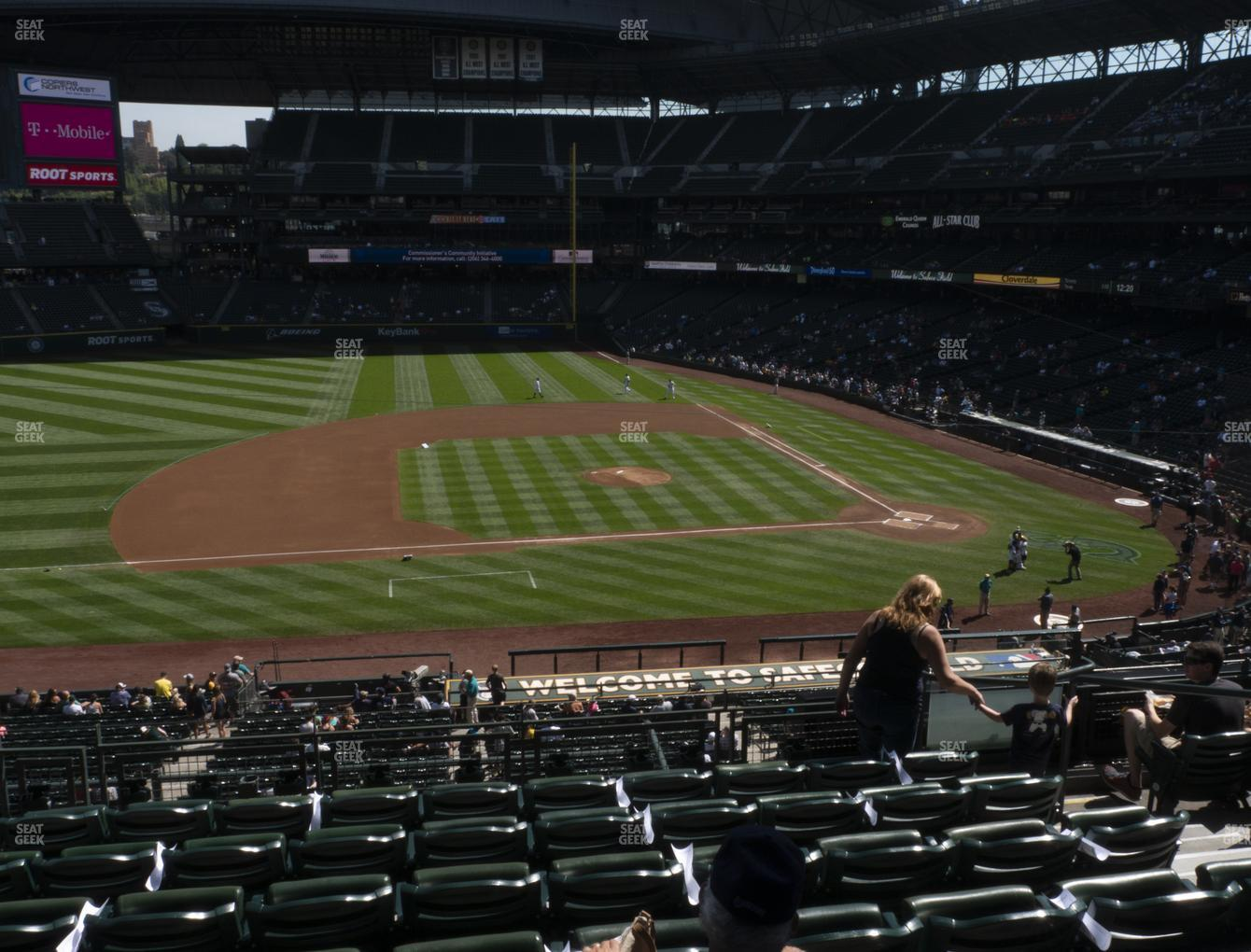 Seattle Mariners at T-Mobile Park Section 238 View