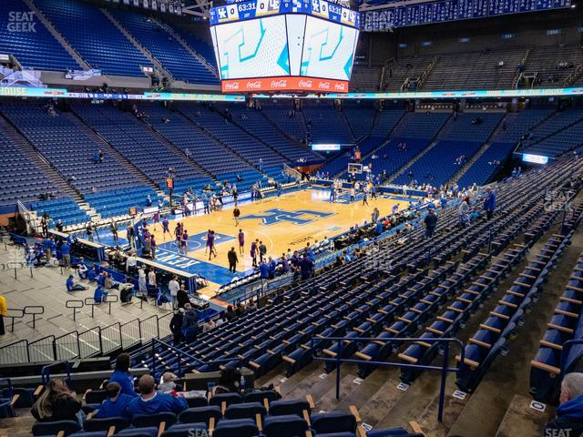 Rupp Arena Section 35 view