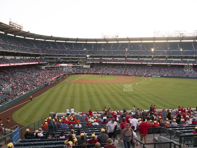 Angel Stadium of Anaheim Section 244 view