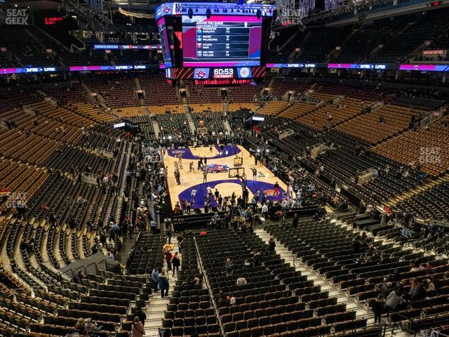 Scotiabank Arena Section 316 view