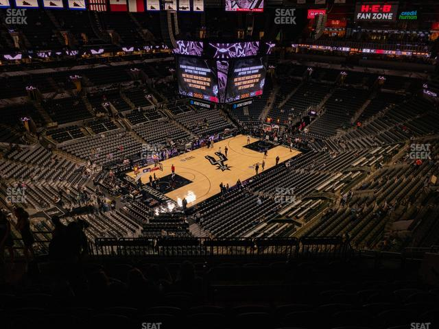 AT&T Center Section 228 view