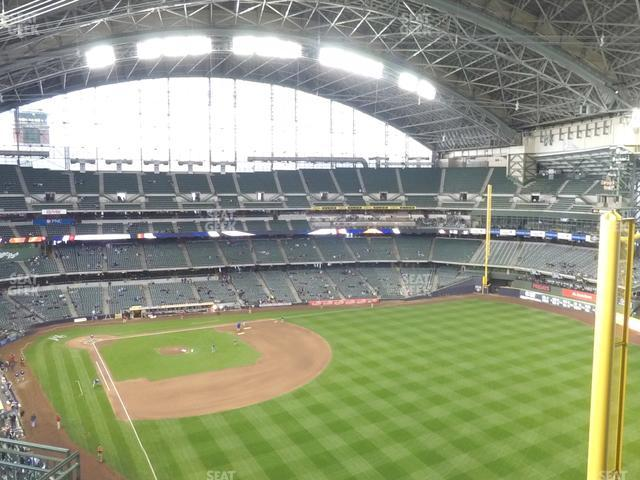 Miller Park Section 405 view