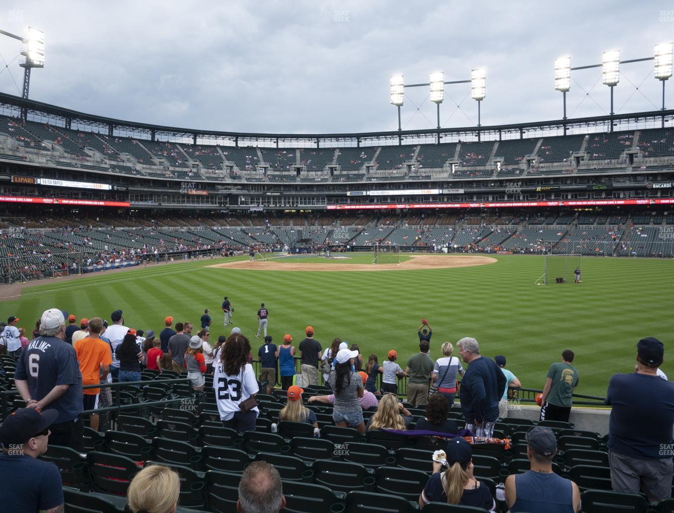Detroit Tigers at Comerica Park Section 103 View