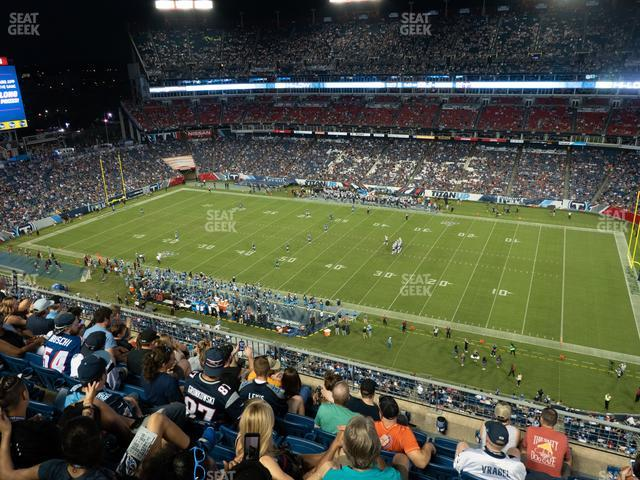 Nissan Stadium Section 332 view