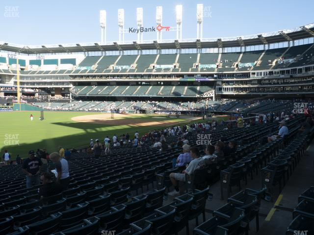 Progressive Field Section 176 view