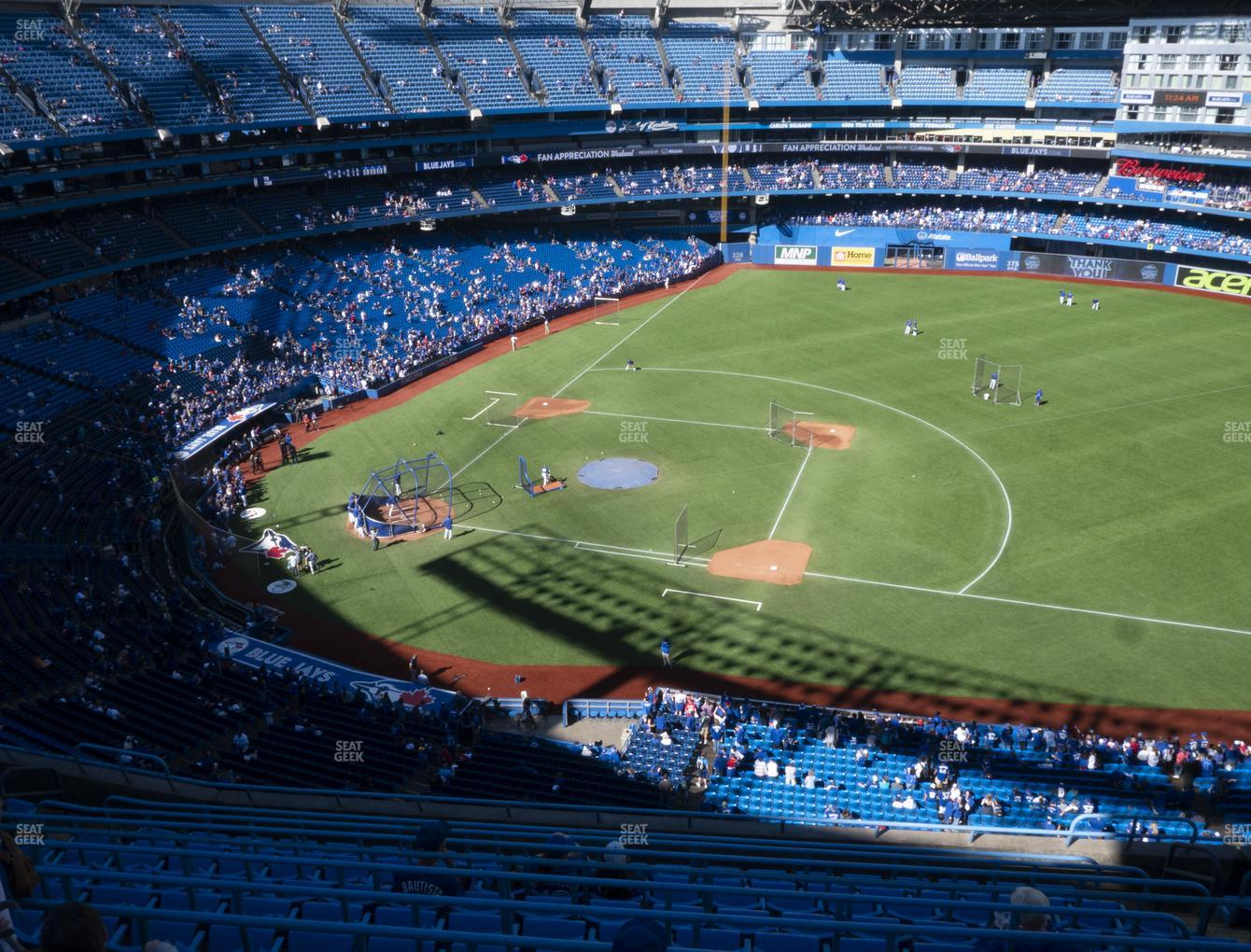 Toronto Blue Jays at Rogers Centre Section 517 R View