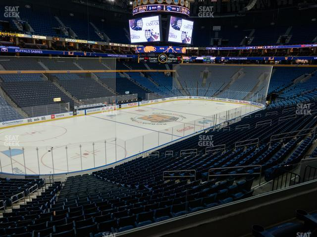KeyBank Center Section 222 view