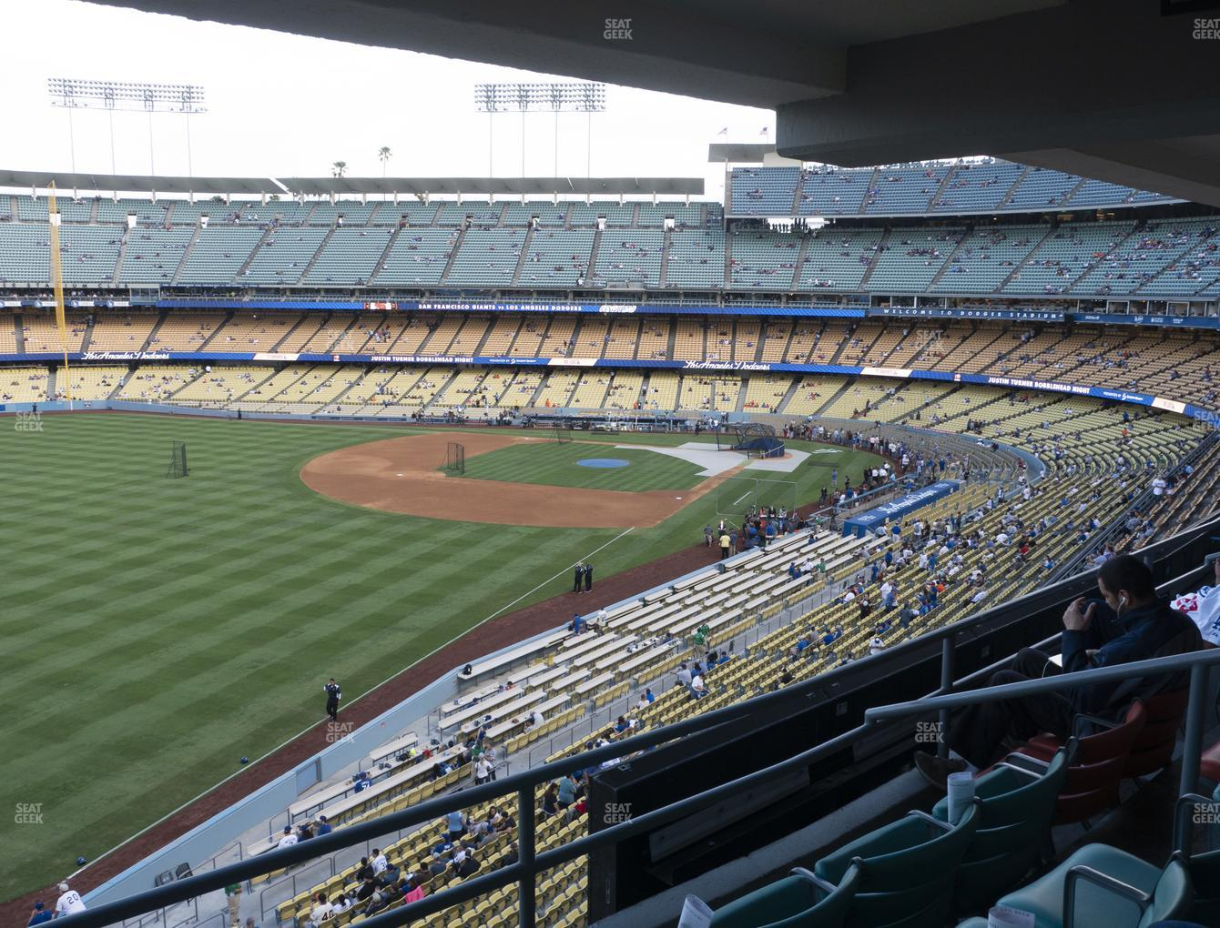 Dodger Stadium Club 247 Seat Views Seatgeek