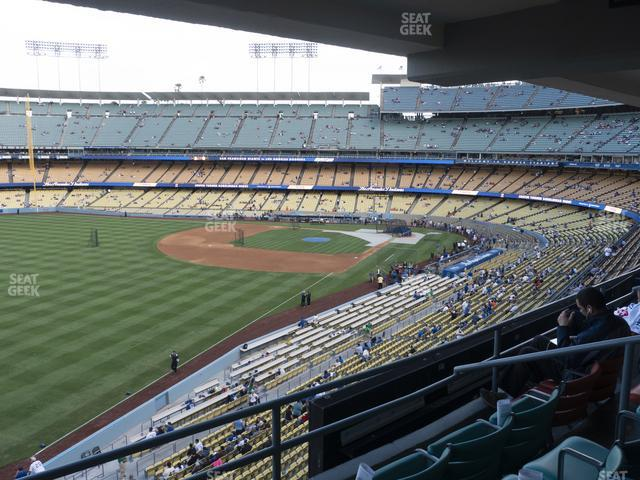 Dodger Stadium Section Club 247 view