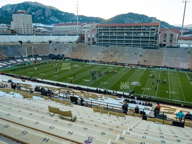 Folsom Field Section 220 view