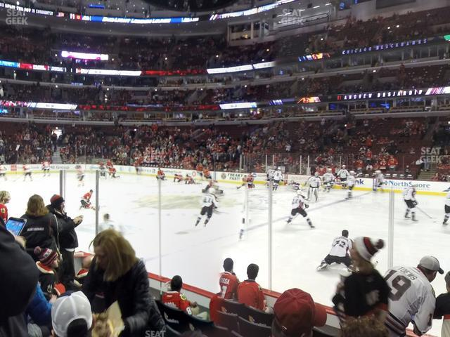 United Center Section 121 view