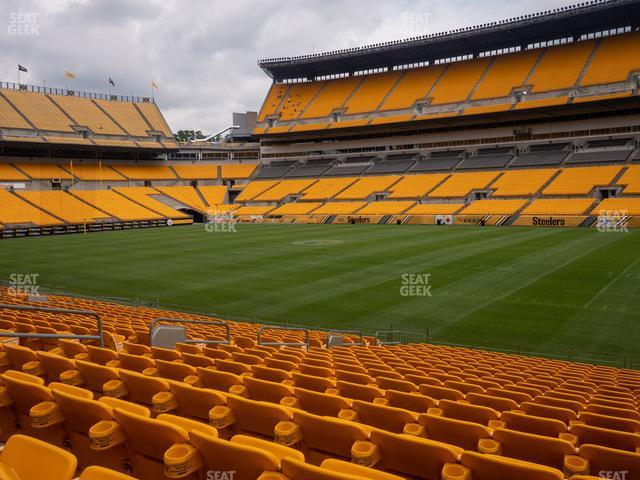 Heinz Field Section 138 view