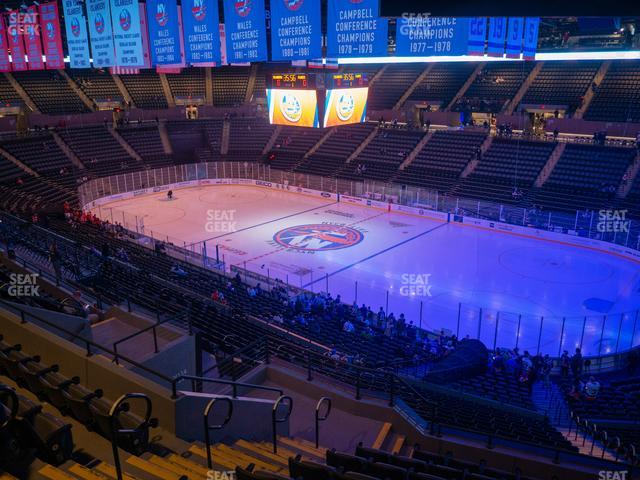 Nassau Veterans Memorial Coliseum Section 219 view