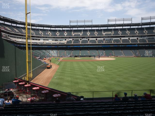 Globe Life Park Section 44 view