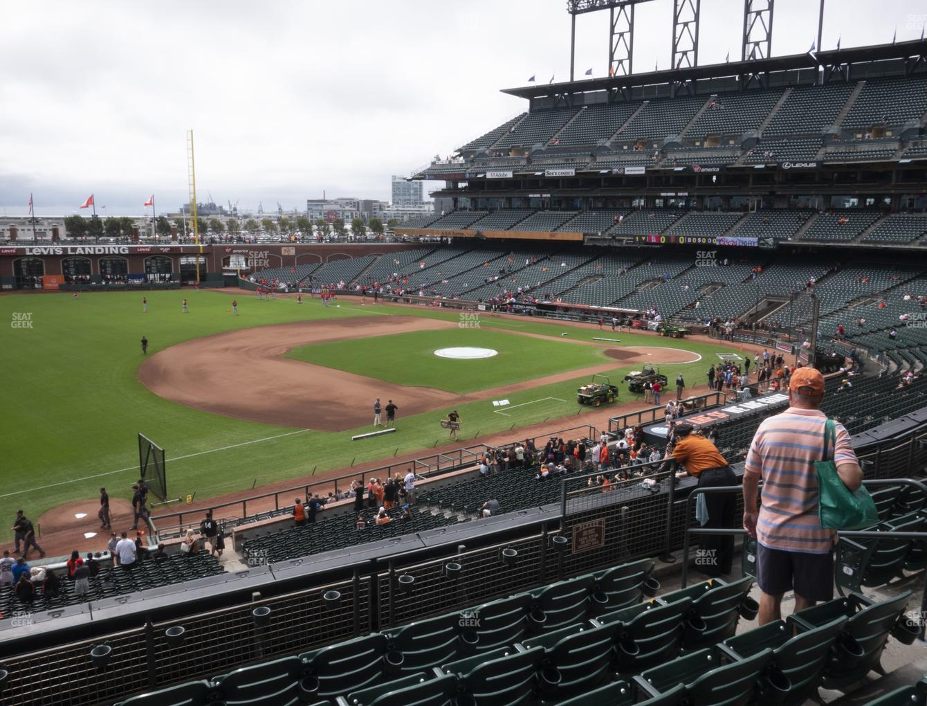 San Francisco Giants at Oracle Park Section 227 View