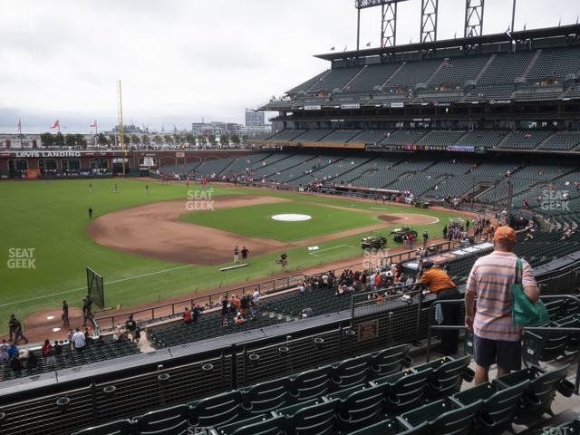 Oracle Park Section 227 view
