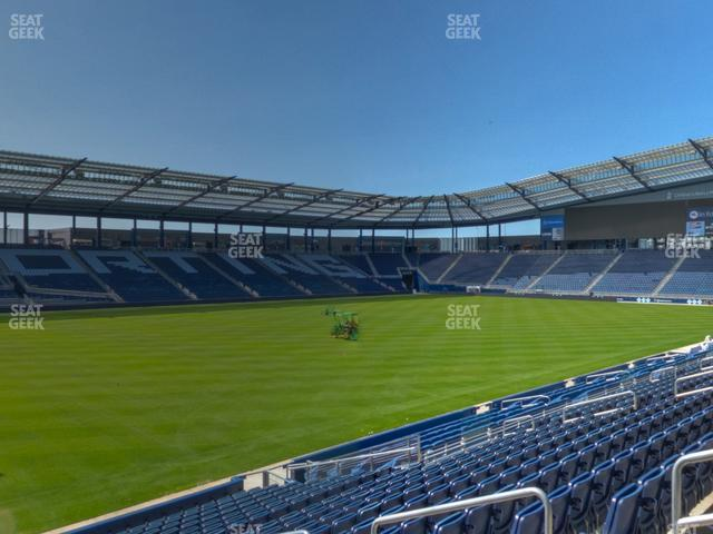 Children's Mercy Park Section 101 view