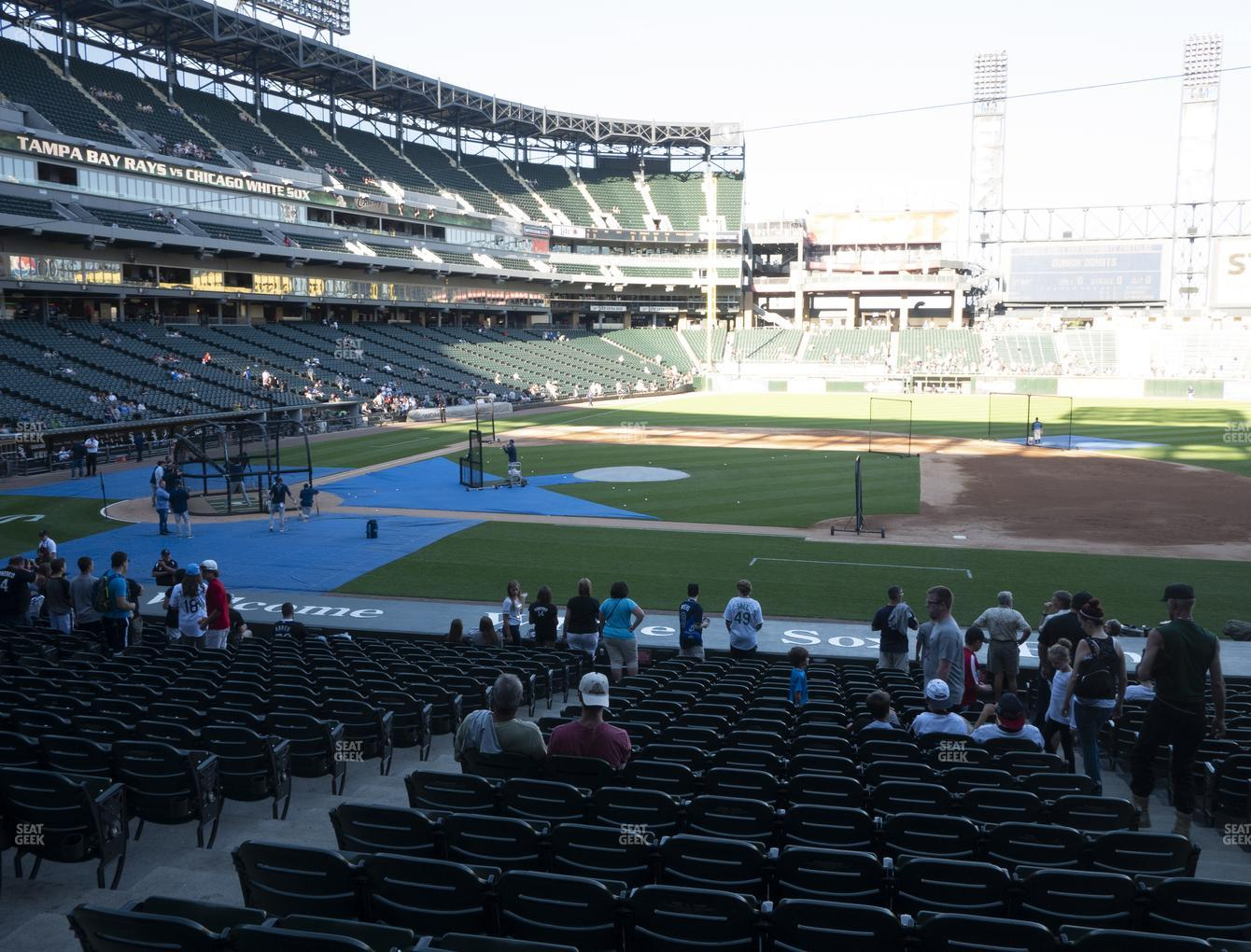 Chicago White Sox at Guaranteed Rate Field Section 124 View