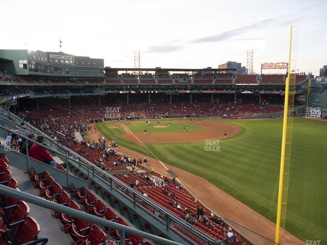 Fenway Park Right Field Roof Box 35 view