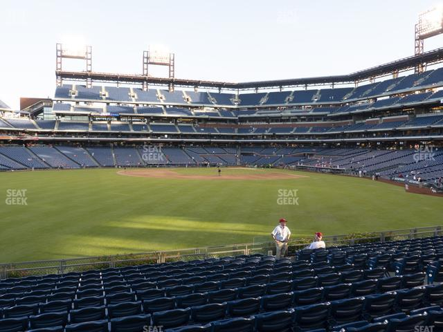 Citizens Bank Park Section 145 view