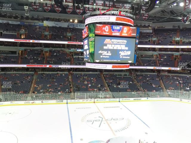 Capital One Arena Section 229 view