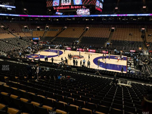 Scotiabank Arena Section 107 view