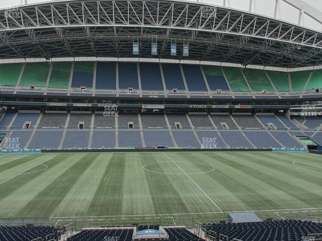 CenturyLink Field Section Club 236 view