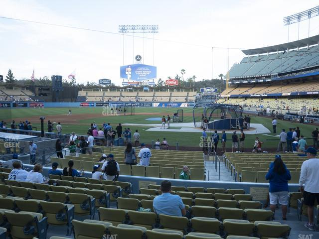 Dodger Stadium Field Box 9 view
