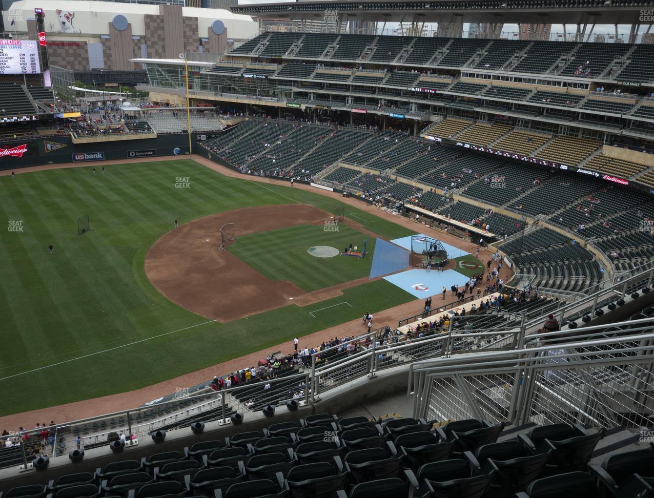 Minnesota Twins at Target Field Section 324 View