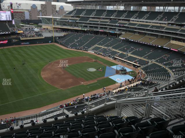 Target Field Section 324 view